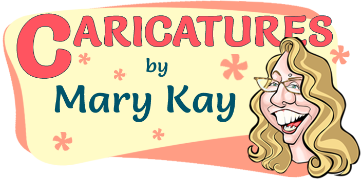 Caricatures by Mary Kay Williams